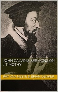 Calvin sermons cover