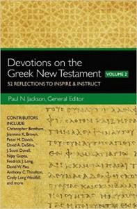devotions in the greek nt